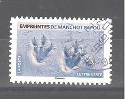 France Autoadhésif Oblitéré N°1961 (Empreintes De Manchot Papou) (cachet Rond) - Gebruikt
