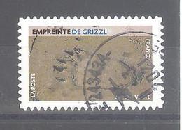 France Autoadhésif Oblitéré N°1960 (Empreinte De Grizzli) (cachet Rond) - Gebruikt