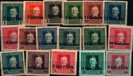 39980) OCCUPAZIONI STRANIERE DI TERRITORI ITALIANI-Posta Militare Austro-ungarica - 1 Giugno 1918 -SERIE MLH* - Andere