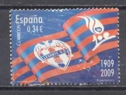 España, 2009, Centenario Del Levante U.D. Usado - 2001-10 Oblitérés