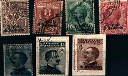 39983) Emissioni Ordinarie Soprastampate Tripoli Di Barberia - Dicembre 1909 -7 V. USATI - Andere