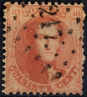 1863 - Nr 16A - 217 Liège - 1863-1864 Medallones (13/16)