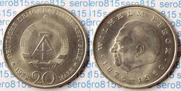 DDR 20 Mark Von 1972 Wilhelm Pieck Bankfrisch (n197 - Otros
