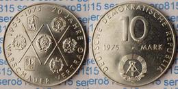 DDR 10 Mark Von 1975 - 20 Jahre Warschauer Vertrag   (p557 - Otros
