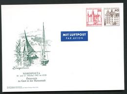 Bund PP133 NEUSIEDLERSEE BURGENLAND ÖSTERREICH Hamburg 1982 - Private Postcards - Mint