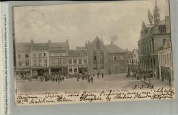 Roeselare Roulers Grand'Place Et L'Hôtel De Ville  1903  (AVRI 2021 285) - Roeselare