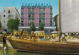 CATTOLICA-RIMINI-HOTEL=CONTINENTAL=-CARTOLINA VERA FOTOGRAFIA-SCRITTA MA NON VIAGGIATA - Rimini