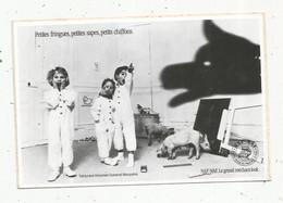 AUTOCOLLANT , NAF-NAF , Le Grand Méchant Look , Petites Fringues , Petites Sapes , Petits Chiffons ,150 X 100 Mm - Stickers