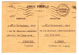 46371 - ETAT FRANCAIS  - COURRIER  OFFICIEL - Guerra Del 1939-45