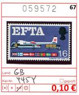 Grossbritannien - Great Britain - Grand Bretagne - Michel 445 Y  - ** Mnh Neuf Postfris - Unused Stamps