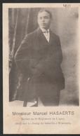 ABL, Marcel Hasaerts , Né à Genval Le 7 Janvier 1893 Mort Sur Champ De Bataille à Warnant Le 24août 1914 - Obituary Notices