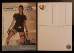 TOMB RAIDER Lara Croft Angelina Jolie Movie Film CITRUS Edition Carte Postale - Unclassified