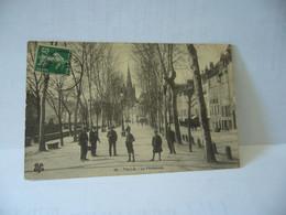 66. TULLE  (en Occitan : Tula 19 CORREZE NO LA PROMENADE CPA 1913 - Tulle