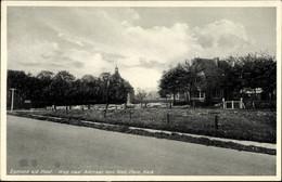 CPA Egmond Aan Den Hoef Nordholland Niederlande, Weg Naar Alkmaar, Ned. Herv. Kerk - Non Classificati