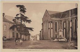 44    Saint Aubin Des Chateaux  - Place  De  L'eglise - Altri Comuni