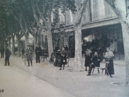 CPA TARASCON Bouches Du Rhone - Promenade Nationale - Tarascon