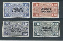 COB JO37/40 TYPE II  (MH) - Dagbladzegels
