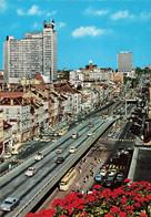 Belgique Bruxelles Brussel Vue Sur Le Viaduc Et Les Boulevards Viadukt Hoofdlanen CPSM GF Tram Tramway Combi Volkswagen - Corsi