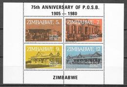 Zimbabwe N°  Bloc 2 YVERT NEUF ** - Zimbabwe (1980-...)
