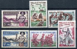 WALLIS ET FUTUNA ( POSTE ) : Y&T  N°  157/158 B  TIMBRES  NEUFS  AVEC  TRACE  DE CHARNIERE . A  SAISIR . - Ungebraucht