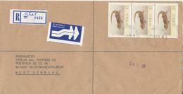 Zimbabwe Registered Cover Sent To Germany 24-1-1989 - Zimbabwe (1980-...)