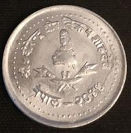 NEPAL - 10 PAISA 1987 - ( 2044 ) - Birendra Bir Bikram - Grand Module - Petits épis - KM 1014.2 - Nepal