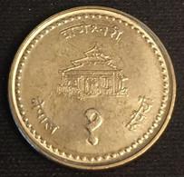 NEPAL - 1 ROUPIE 1999 - ( 2056 ) - Birendra Bir Bikram - Légendes Petits - KM 1073a - ( Rupee ) - Nepal