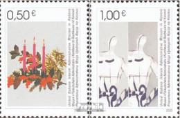 Kosovo 16-17 (kompl.Ausg.) Jahrgang 2003 Komplett Postfrisch 2003 Weihnachten Und Neujahr - Gebraucht
