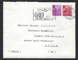 ALGERIE 1965: LSC De Constantine Pour Lille (Nord) - Algeria (1962-...)
