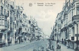 Belgique Oostende Ostende La Rue Royale - Oostende