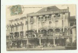 64 - ORTHEZ - Nouvelles Galeries Et Grand Bazar Du Progrés Animé Bon état ( Dos Timbre Arraché ) - Orthez