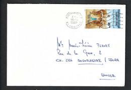 MAURITANIE 1989: LSC De Nouakchott Pour La Suisse - Mauritanië (1960-...)