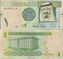 Saudi-Arabien Pick-Nr: 31a Bankfrisch 2007 1 Riyal - Saudi Arabia