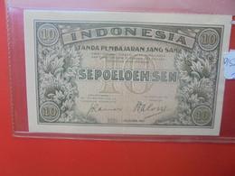 INDONESIE 10 SEN 1947 Circuler - Indonesien