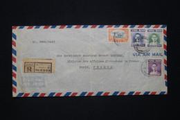 SIAM - Enveloppe Cachetée Du Ministre Des Affaires Etrangères En Recommandé De Bangkok Pour La France En 1949 - L 96646 - Siam