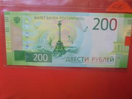 RUSSIE 200 ROUBLES 2017 Peu Circuler - Russie