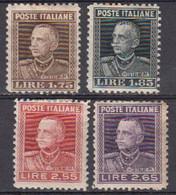 Italie 1927 Yvert 200 / 203 * Neufs Avec Charniere. Victor Emmanuel II - Nuevos