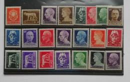 Regno D'Italia Vittorio Emanuele III 1929 Serie Imperiale Completa 22 Valori ** - Mint/hinged