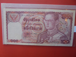 THAILANDE 100 BAHT 1978 Circuler - Thailand
