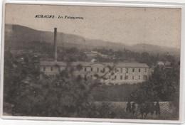 CPA 13 : AUBAGNE - Les Faïenceries - Ed. Rose Roure à Marseille - 1916 - - Aubagne