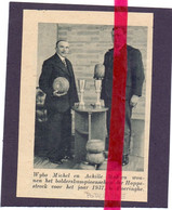 Orig. Knipsel Coupure Tijdschrift Magazine - Poperinge - Kampioenschap Bollen , Winnaars M. Wybo & A. Mahieu - 1937 - Non Classificati
