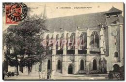 CPA Chartres L&#39Eglise Saint Pierre - Chartres