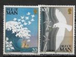 Ile De Man 1995 N° 665/666 Neufs Europa Paix Et Liberté - 1995