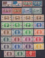 WALLIS ET FUTUNA - FRANCE LIBRE ANNEES COMPLETES 1944/1945 - YVERT N°125/155 ** MNH - COTE 2017 = 45 EUR - Full Years