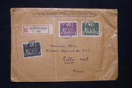 SUÈDE -  Enveloppe Du Congrès De L'UPU En Recommandé De Stockholm Pour La France En 1924 - L 96653 - Storia Postale