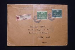 SUÈDE -  Enveloppe Du Congrès De L'UPU En Recommandé De Stockholm Pour La France En 1924 - L 96654 - Storia Postale