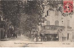 FR66 PERPIGNAN - Couderc - Place Du Haut Vernet - Pub Dunlop  Pub - Café - Animée - état - Perpignan