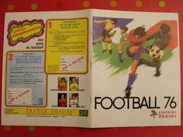 Album D'images Panini. Football 76. Les Images Sont Imprimées Et Non Collées. 1976 - Other