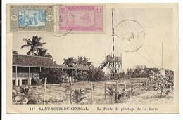SAINT-LOUIS-DU-SENEGAL- Le Poste De Pilotage De La Barre...1938 - Senegal