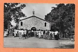 C.P.S.M.-- 917 - COTE D'IVOIRE - Bouaké - La Sortie De La Messe - PHOTO VERITABLE - Costa De Marfil